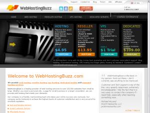 WebHostingBuzz website