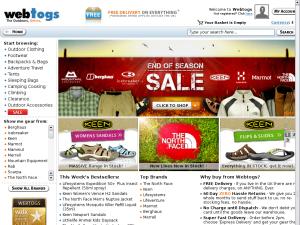 Webtogs website