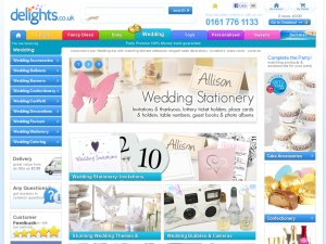 Wedding Delights website