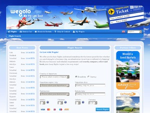 Wegolo website