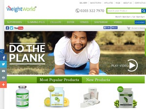 WeightWorld website