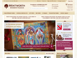 Wentworth Wooden Jigsaw website