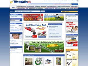 Westfalia website