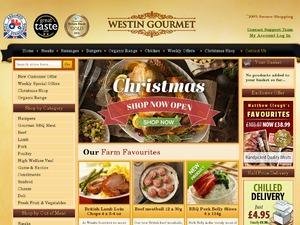 Westin Gourmet website