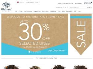 Whittard of Chelsea website