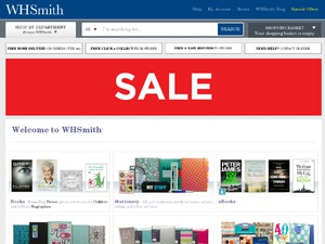 WHSmith website