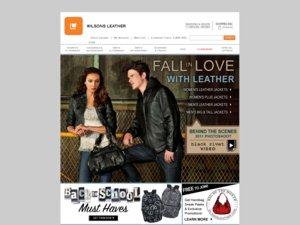 Wilsons Leather website