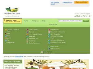 Wiltshire Farm Foods website