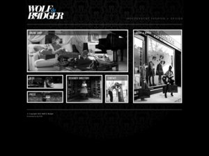 Wolf & Badger website