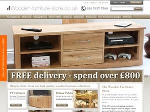 Wooden-Furniture-Store website