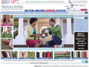 Woolovers UK website