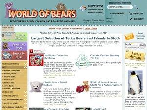 World of Bears website
