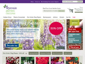 Wyevale website