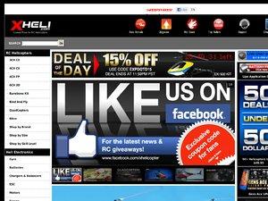 XHeli RC Helicopter website