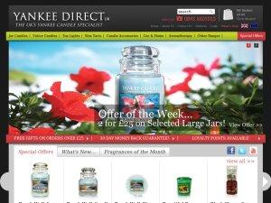 Yankee Direct website