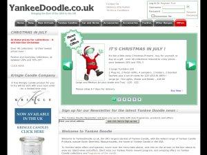 Yankee Doodle website