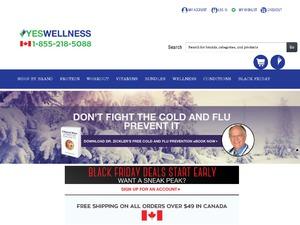 YesWellnes website