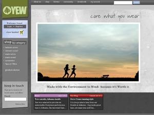 Yew Clothing website