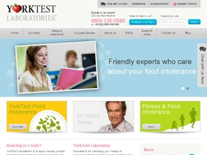 YORKTEST website