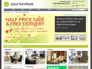 Your Furniture website