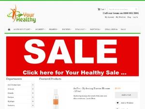 Healthy & Essential website