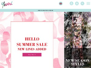 Yumi Direct website