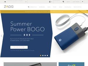 Zagg website