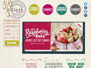 Zizzi website