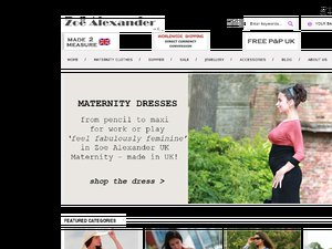 Zoe Alexander website