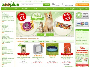 Zooplus website
