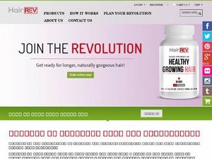 Hair Rev website